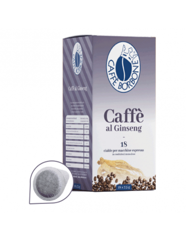 Ginseng coffee with 18 pods